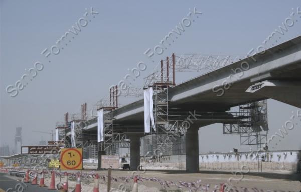 轨道桥梁下部结构施工